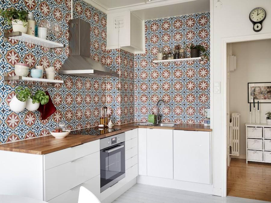 retro obklady do kuchyně dekory