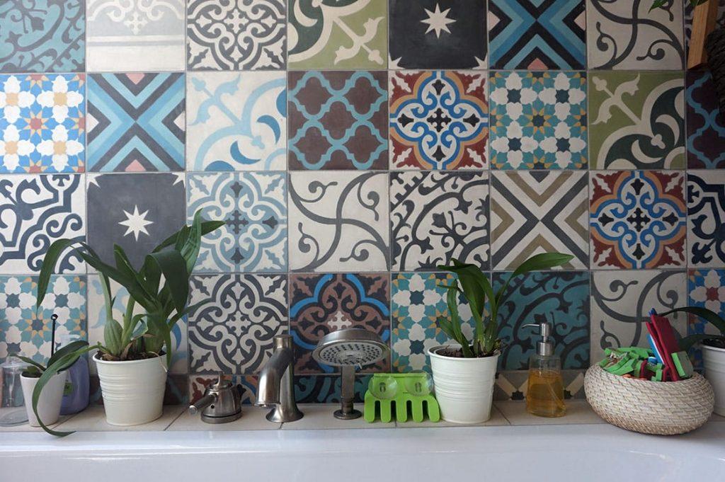 obklady do koupelny patchwork
