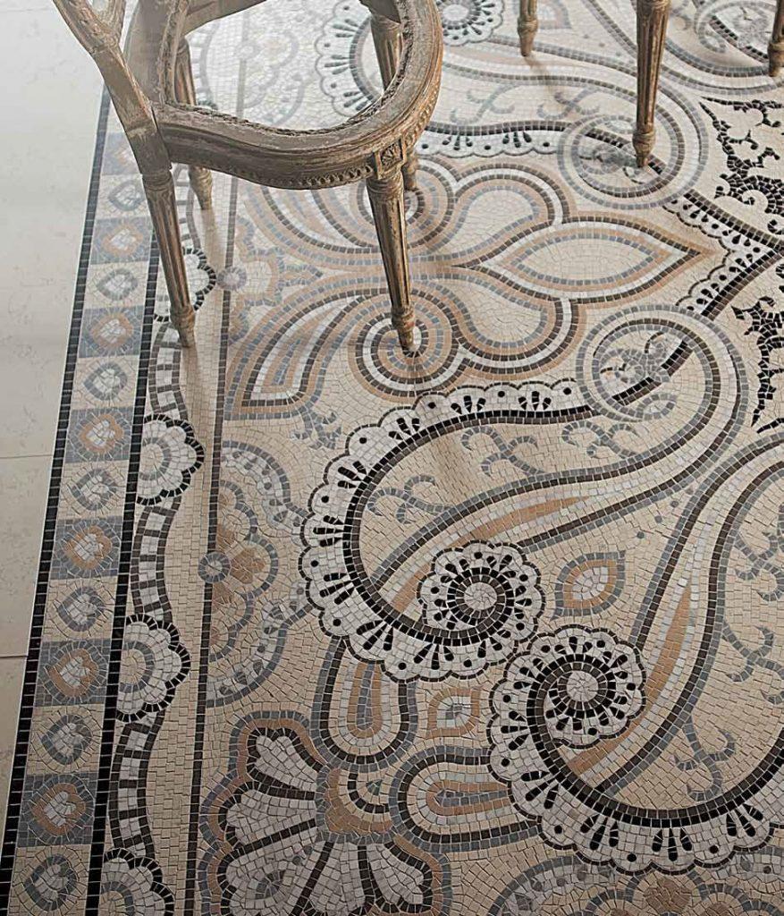 mozaika retro historická