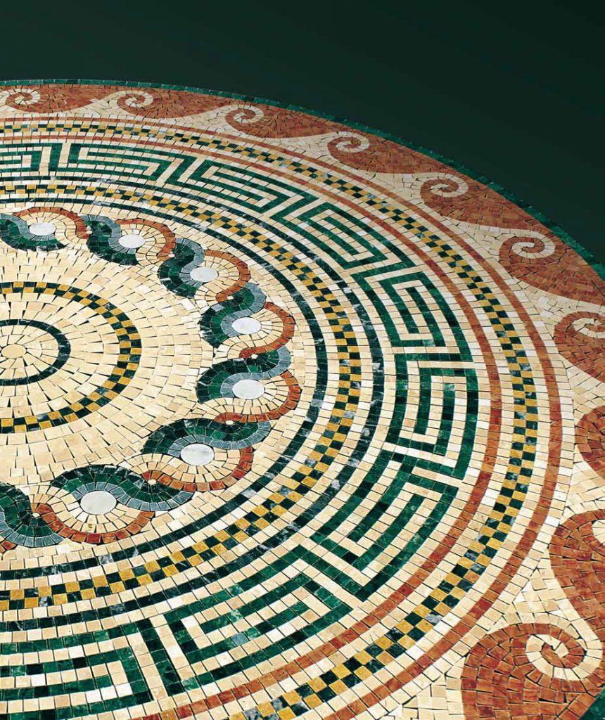 mozaika retro historická obrazce na míru