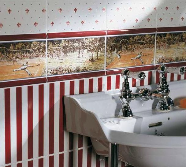 obklady retro do koupelny sport