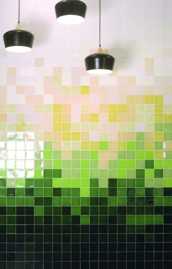 obklady jednobarevné mix barev