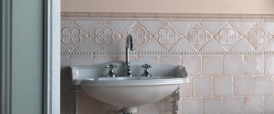 obklady vintage retro do koupelny