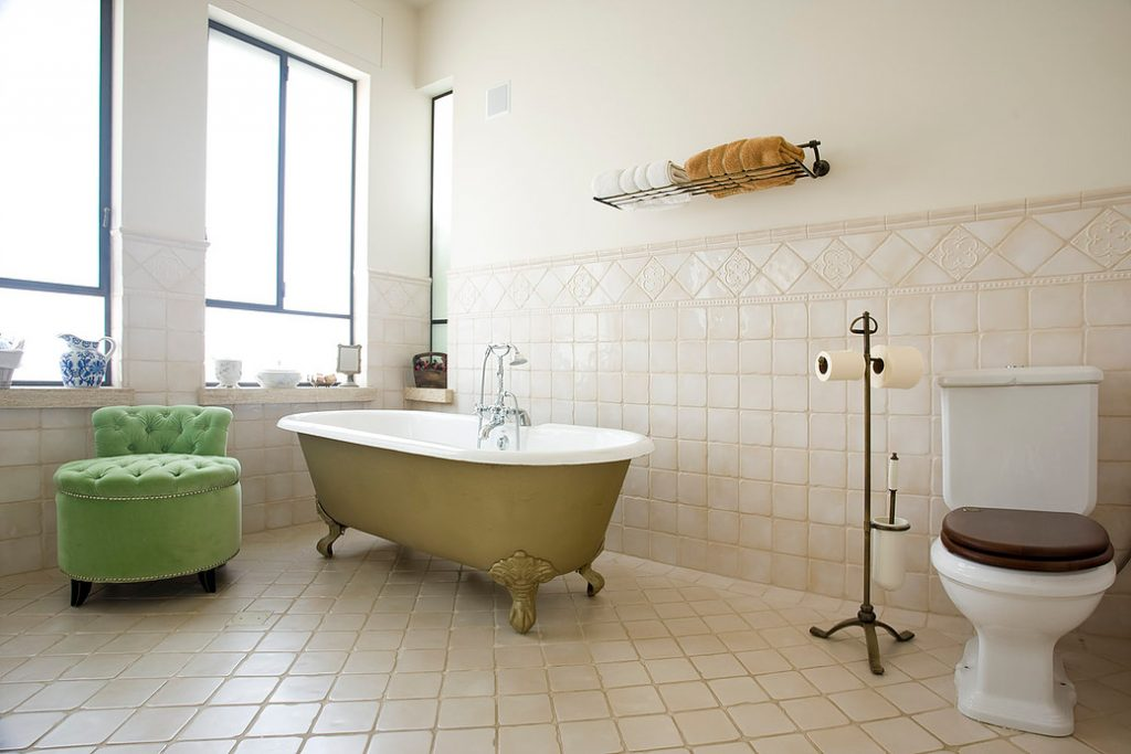 obklady do koupelny retro vintage
