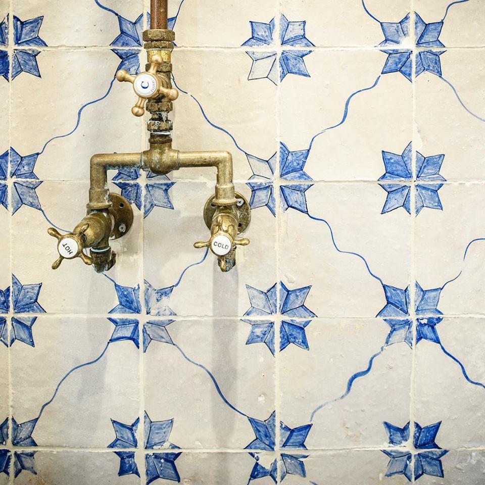 obklady do koupelny malované cotto etrusco terakota glazovaná