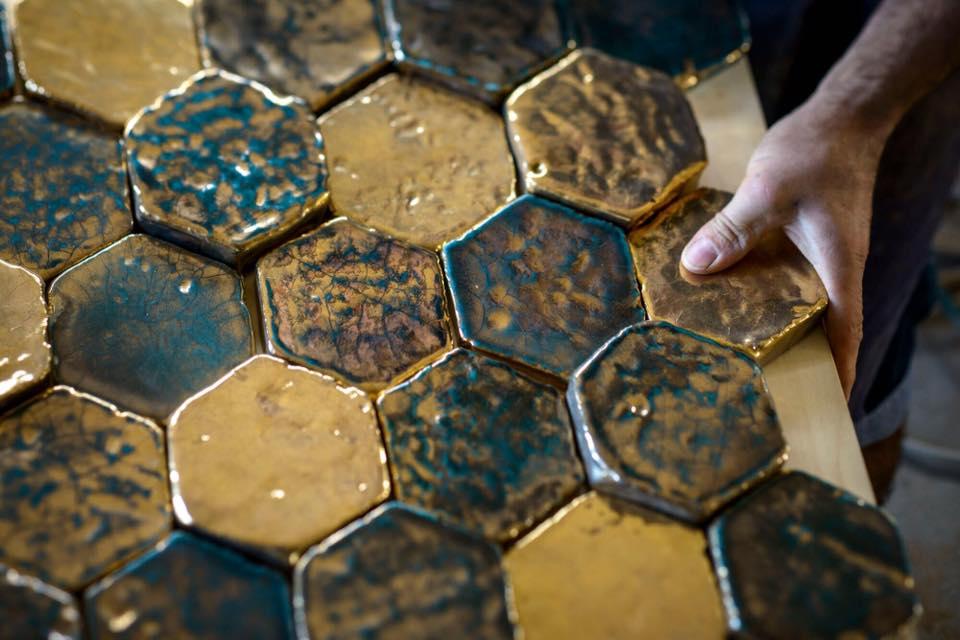 glazovaná terakota handmade dlažba obklady cotto etrusco