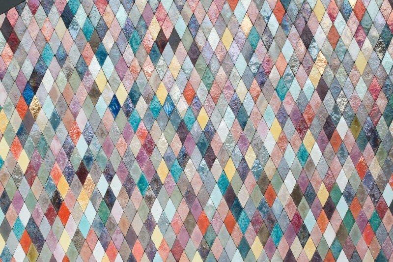 malovaná terakota glazura cotto etrusco obklady mozaika barevná