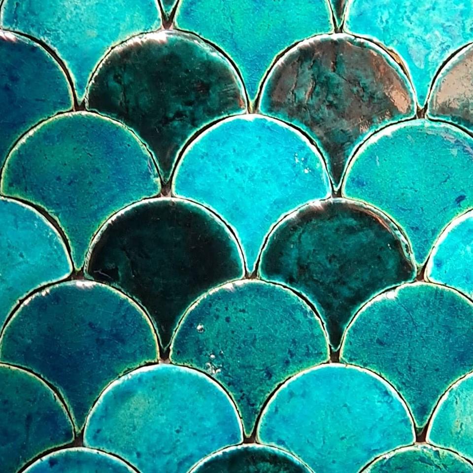 cotto etrusco obklady šupiny terakota handmade