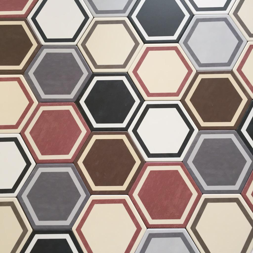 dlažba hexagonální retro odolná