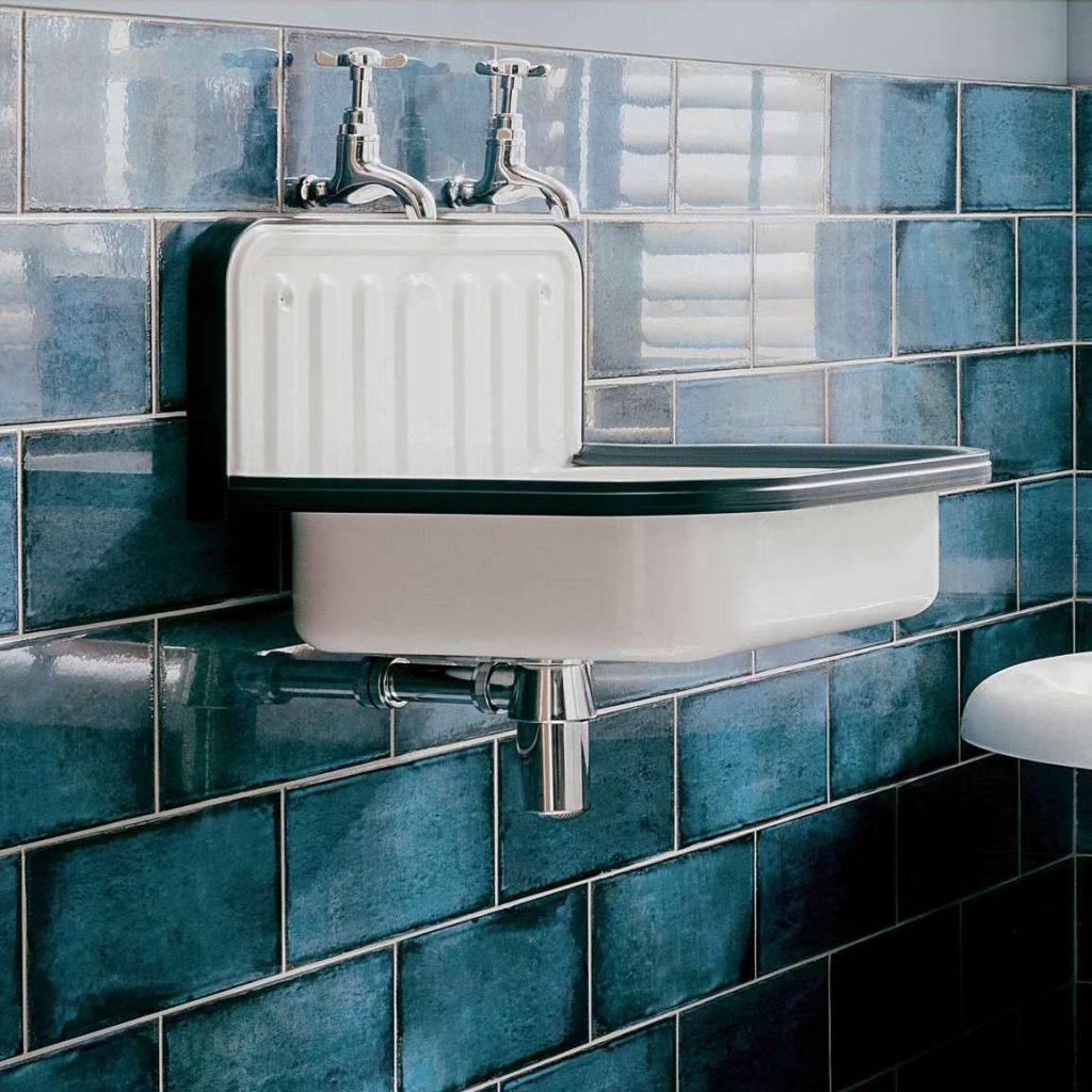 obklady do koupelny montblanc modré retro